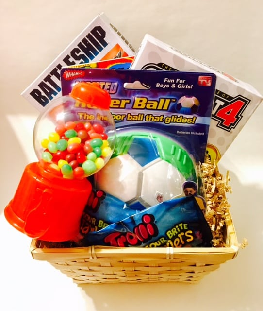 Game day easter basket my agency savannah game day easter basket negle Images